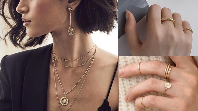 耳環、項鍊、戒指等飾品搭戴六個小技巧,你會了嗎? - 飾品調色盤 | 迪希雅 deesir