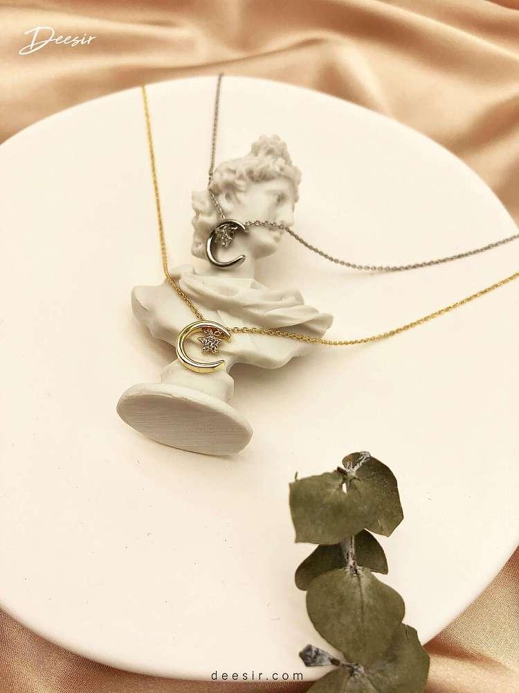 項鍊 - 星月鎖骨鍊 - 飾品調色盤 | 迪希雅 deesir