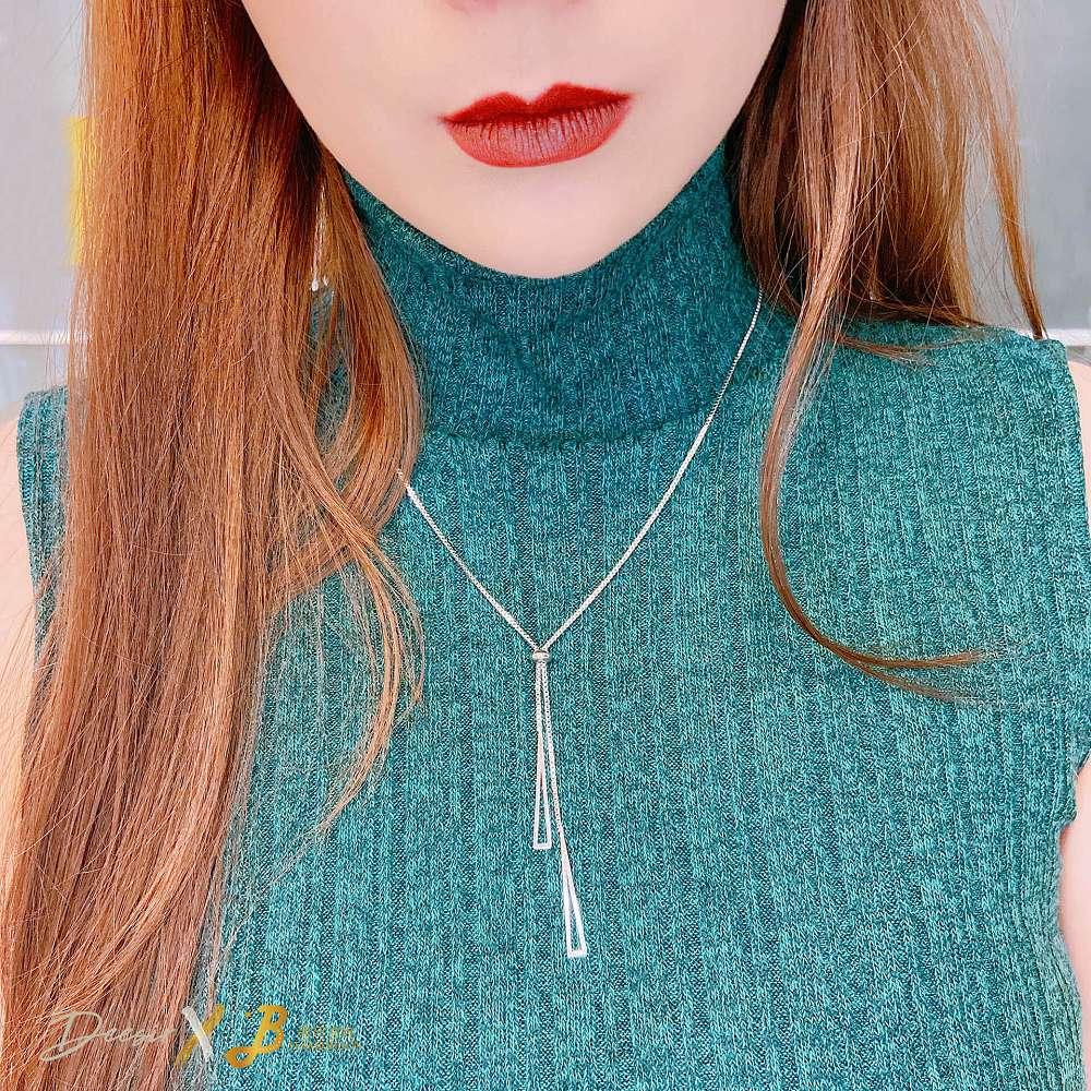 項鍊 - 尖三角鎖骨鍊 合金 - 飾品調色盤 | 迪希雅 deesir