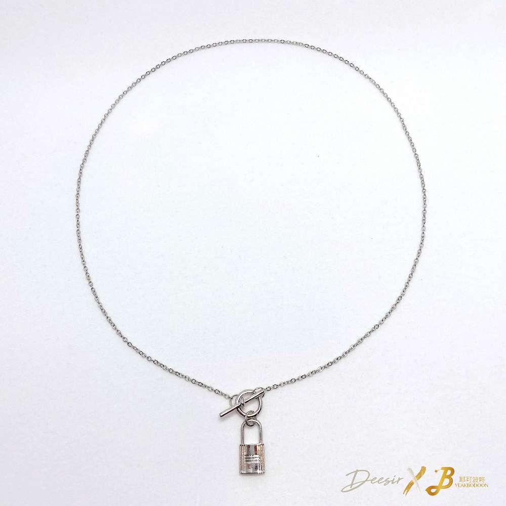 項鍊 - 一字鎖鎖骨鍊 合金 - 飾品調色盤   迪希雅 deesir