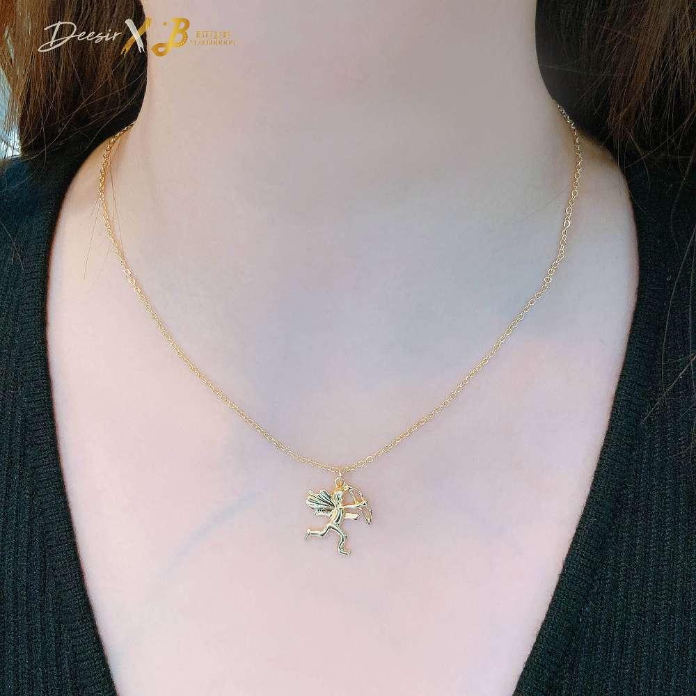 項鍊 - 邱比特鎖骨鍊 合金 - 飾品調色盤   迪希雅 deesir