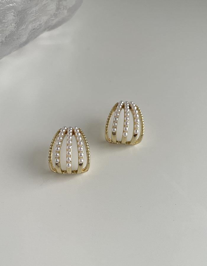 針式 - 法式冷淡風珍珠耳環 - 飾品調色盤 | 迪希雅 deesir