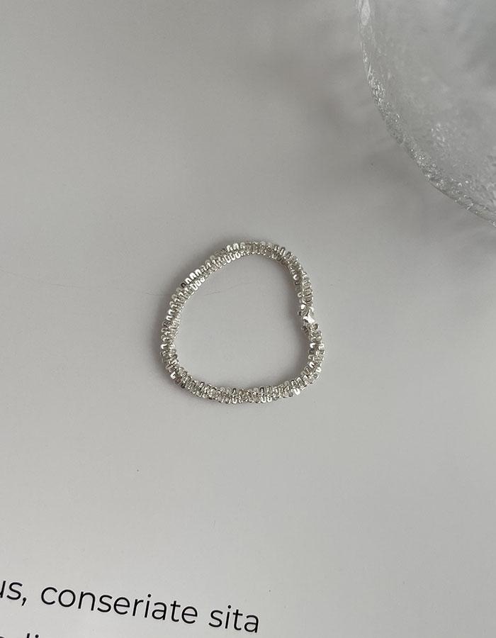 戒指組 - 極細波光粼粼戒指 - 飾品調色盤   迪希雅 deesir