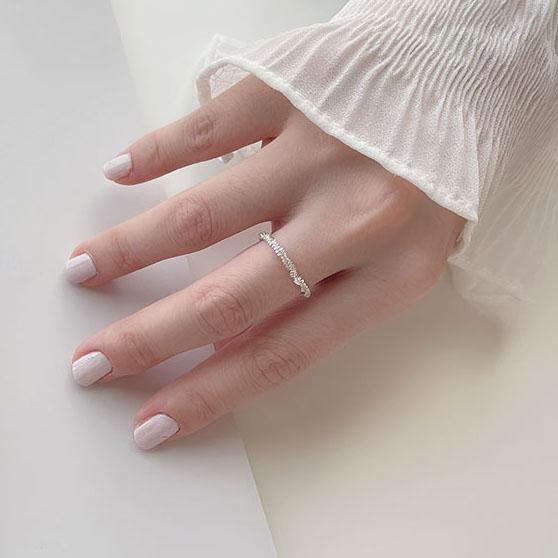戒指組 - 極細波光粼粼戒指 - 飾品調色盤 | 迪希雅 deesir