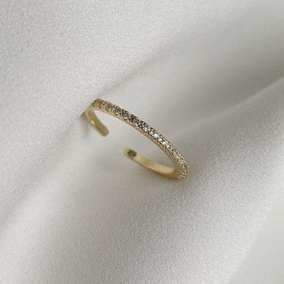 戒指組 - 細緻閃爍可調戒指 - 飾品調色盤 | 迪希雅 deesir