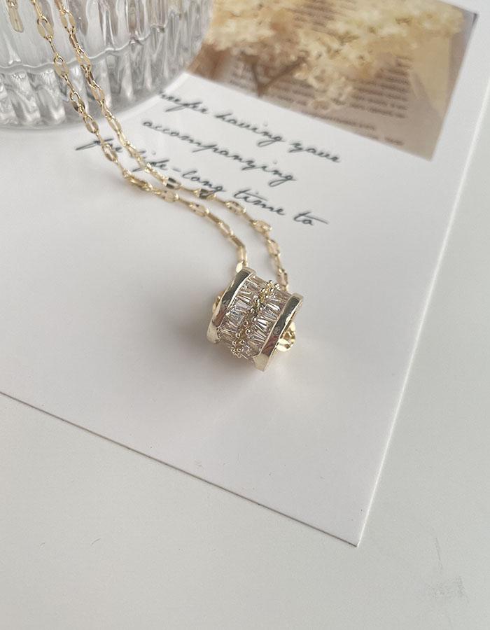 項鍊 - 輕奢感亮鑽項鍊 - 飾品調色盤   迪希雅 deesir