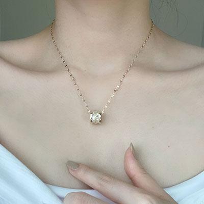 項鍊 - 輕奢感亮鑽項鍊 - 飾品調色盤 | 迪希雅 deesir