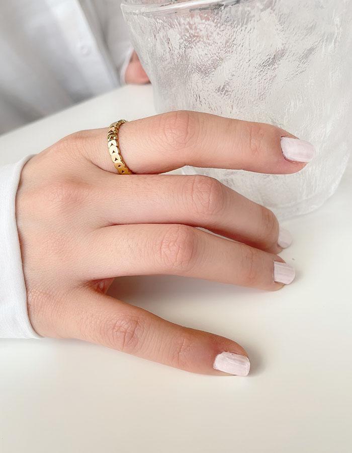 單戒指 - 鍊條風格戒指 - 飾品調色盤 | 迪希雅 deesir