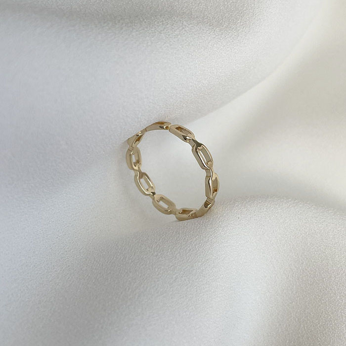 單戒指 - 環繞圈圈鏤空戒指 - 飾品調色盤 | 迪希雅 deesir