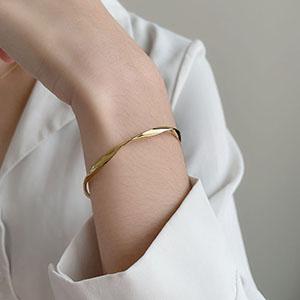 手鍊 - 波浪造型簡約手環 - 飾品調色盤   迪希雅 deesir