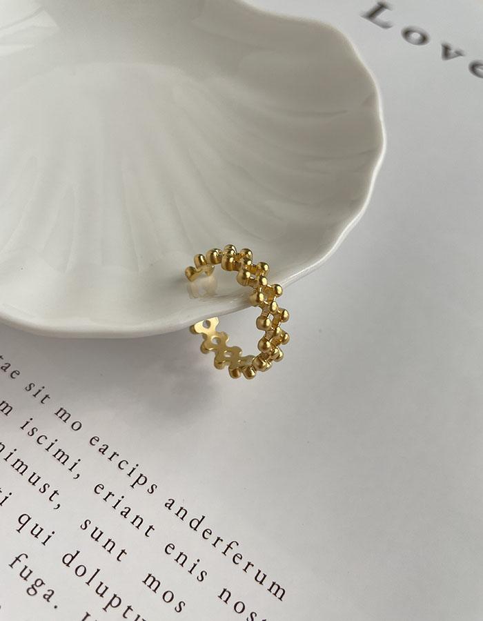 單戒指 - 歐美菱格可調式戒指 - 飾品調色盤   迪希雅 deesir