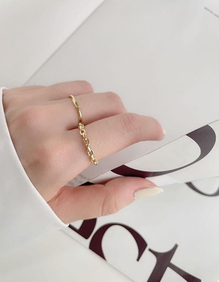 戒指組 - 簡約麻花戒指組 - 飾品調色盤 | 迪希雅 deesir