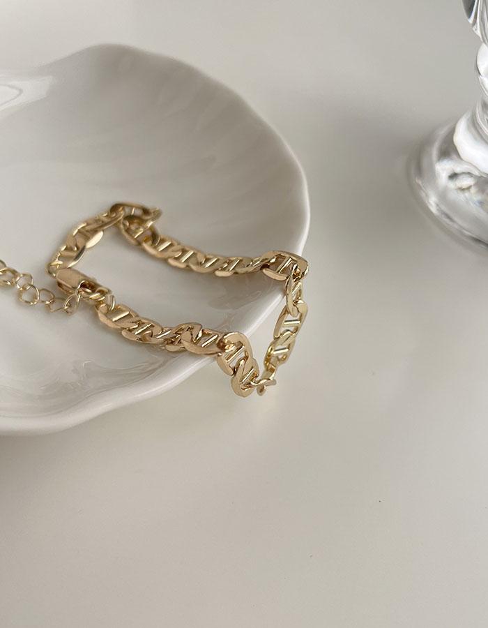 手鍊 - 歐美幾何鍊條手鍊 - 飾品調色盤   迪希雅 deesir