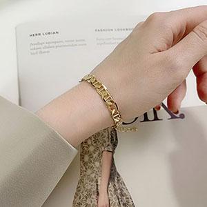 手鍊 - 歐美幾何鍊條手鍊 - 飾品調色盤 | 迪希雅 deesir