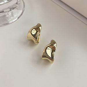 針式 - 簡約扭曲型耳環 - 飾品調色盤   迪希雅 deesir