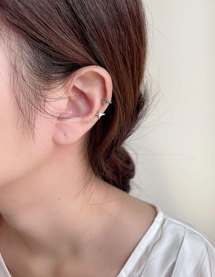 耳骨夾 - 冷淡風星芒耳骨夾 - 飾品調色盤 | 迪希雅 deesir