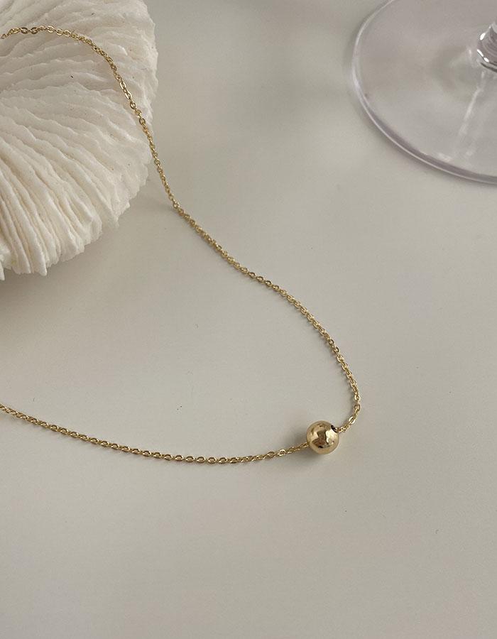 鎖骨鍊|中 - 單圓珠百搭項鍊 - 飾品調色盤 | 迪希雅 deesir