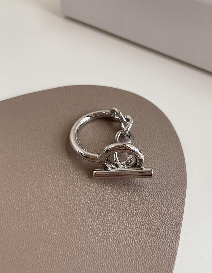 單戒指 - 歐美金屬扣戒指 - 飾品調色盤   迪希雅 deesir