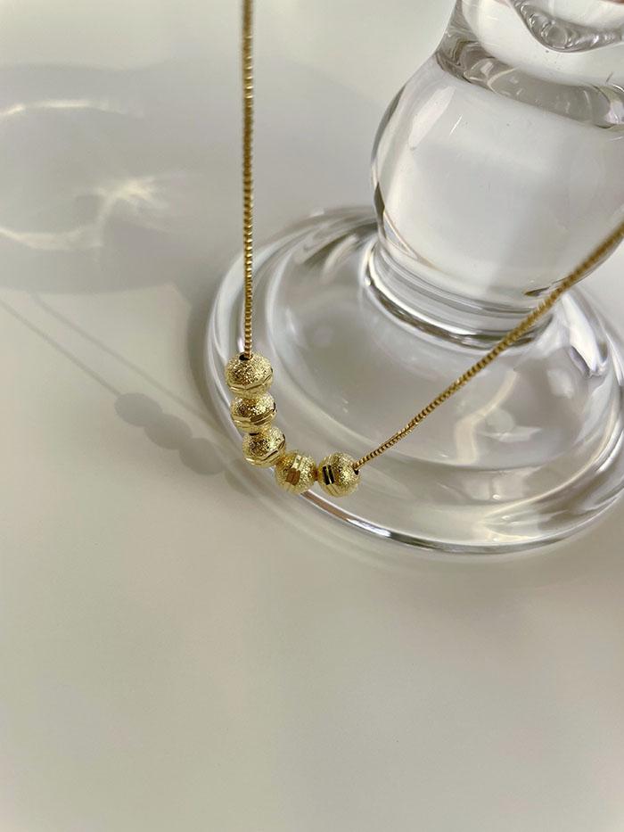 項鍊 - 活動式小圓豆項鍊 - 飾品調色盤 | 迪希雅 deesir