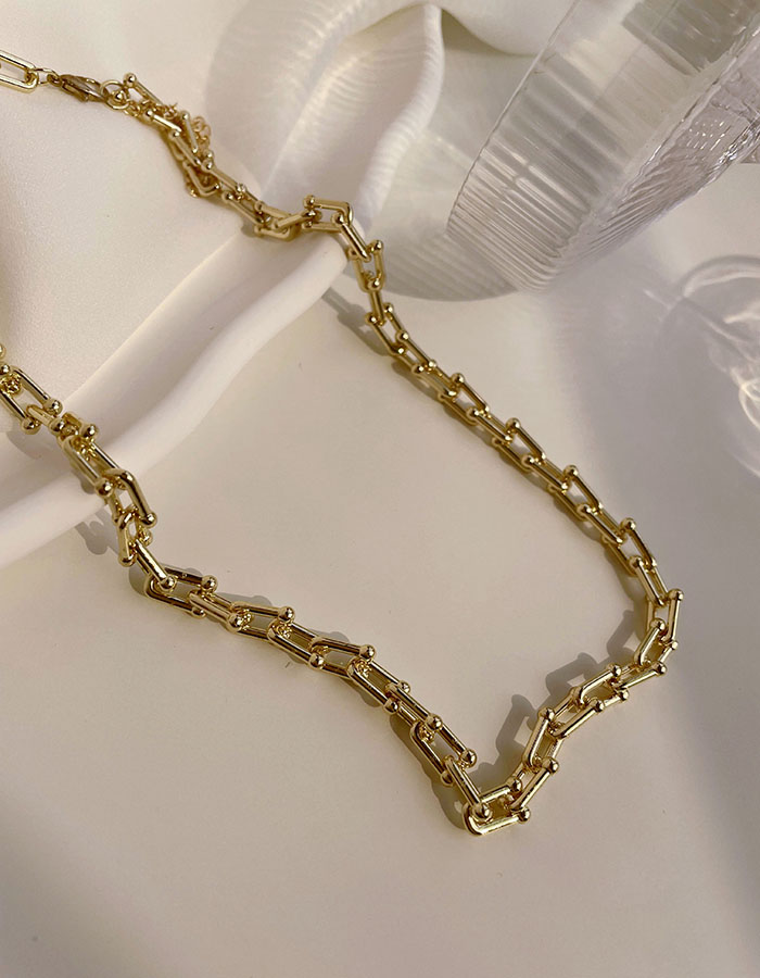 鎖骨鍊|中 - 歐美感鍊條項鍊 - 飾品調色盤 | 迪希雅 deesir